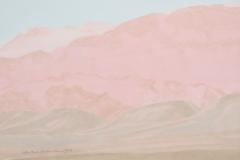 Luz-M.-Sanchez.-Cordillera-en-rosa-acuarela-sobre-papel-30-x-43-cm.-Coleccion-particular